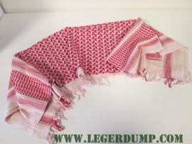 Sjaal / omslagdoek rood wit