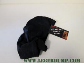 Baclava style Ninja bivak zwart