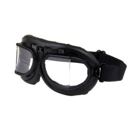 Motor bril zwart decoratie
