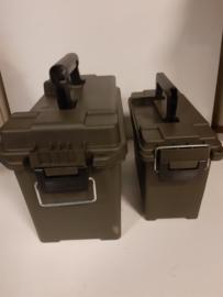 Plastic munitie kist 2 x