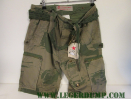 Walkshort Terrence Inc Freestyle camouflage incl koppel