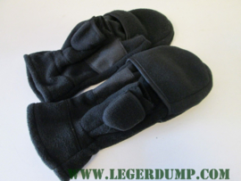 Outdoor fleece SMS Glove Jagers handschoen zwart
