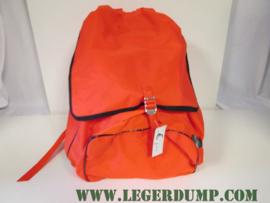 Oranje rugzak van nylon