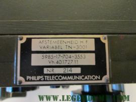 Afstemeenheid H.F. Variabel TN-3001