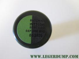 Camouflage stift zwart/groen