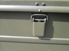 Legerkist van aluminium