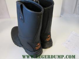 Veiligheidslaarzen met stalen neus kleur zwart