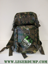 Rugzak assault 25 liter digital camouflage
