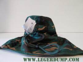 Fieldcap met nekbescherming camouflage