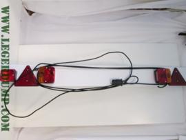 Verlichtingsbalk kunststof wit (zie omschrijving)