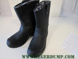 Veiligheidslaarzen gevoerd met stalen neus kleur zwart