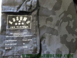 Kosumo raw vintage night camouflage