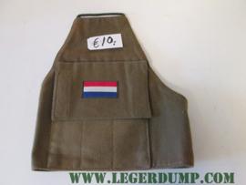 Armlet schouderband groen met NL vlag