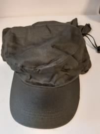 Fieldcap met nekbescherming  groen