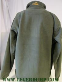 Greenlands fleece jas groen, wind en waterproof