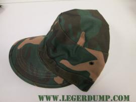 Legerpet Combat groen camouflage