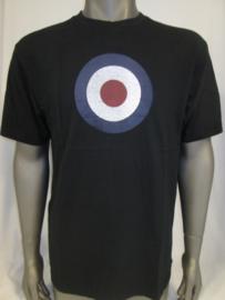 T-shirt zwart RAF