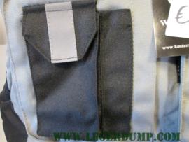 Bodywarmer grijs /zwart met binnenzak