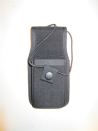 radio tas /portofoon houder zwart