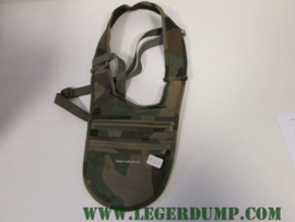 Schoudertasje / portemonnee camouflage