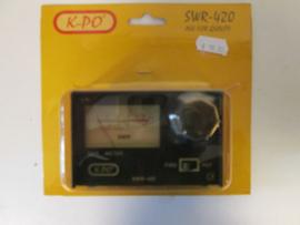 SWR-420 meter
