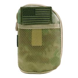 Tactical wallet organizer