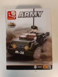Sluban Jeep M38-B0M38-B0587F