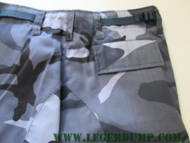 Camouflagebroek blauw