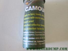 Camouflage stift bruin/groen