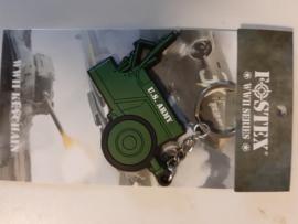 Sleutelhanger 3D jeep