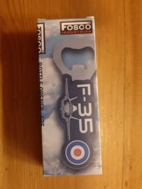 Flesopener  3D PVC F-35