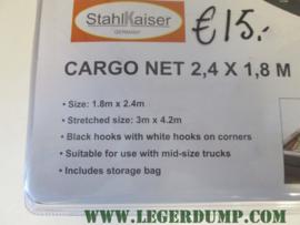 Cargonet 2,4 x 1,8 meter