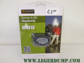 Fornax 5 LED Highlander headlamp