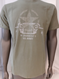 T-shirt Allied star -willy jeep