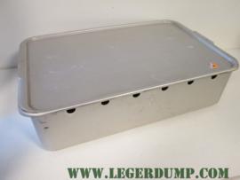 Aluminium kist met luchtgaten 63x17x40 cm