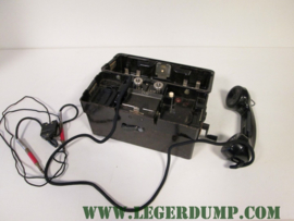 Telefoon Standard Elektrik Lorenz veldtelefoon