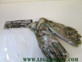 Tactical handgloves handschoenen Camo DTC/Multi