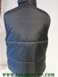 Bodywarmer zwart met fleece voering (kan ook binnenstebuiten)