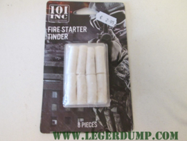 Fire starter tinder 8 pack