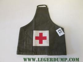 Armlet schouderband groen van het rode kruis