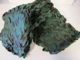 Camouflage net klein woodland