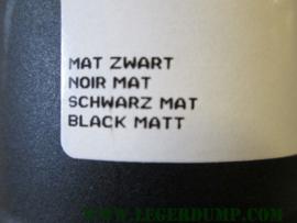Spuitbus Crafts mat zwart, rally acrylic