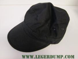 Fieldcap zwart verstelbaar