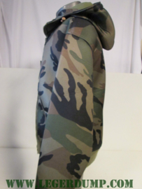 Hooded Jacket camouflage, 100% Polyester