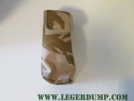 Munitietasje camouflage Desert 18x7 cm