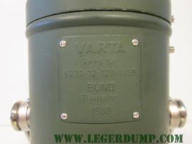 Legerlamp metaal verstelbaar met beugel