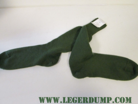 Legersokken groen