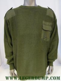Commando trui groen