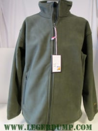 Greenlands fleece jas groen, wind en waterproof