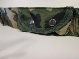Kinderkoppel camouflage met tasje